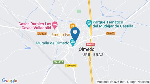 Hostal La Mesnadita Map