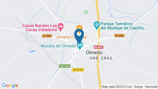 Gran Posada La Mesnada Map