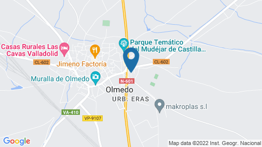 La Olmedana Map