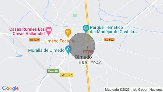 Rural apartment Las Cavas for 3 people Map
