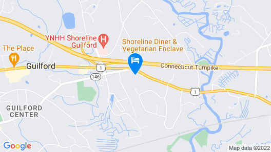 Tower Inn And Suites Of Guilford-Madison Map