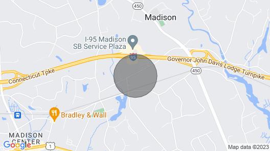 Newly Renovated Near Downtown & Hammonasett Beach Map