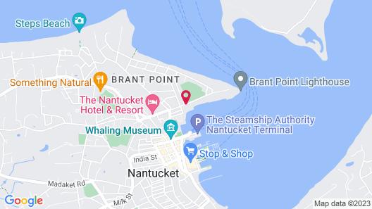 White Elephant Hotel Map