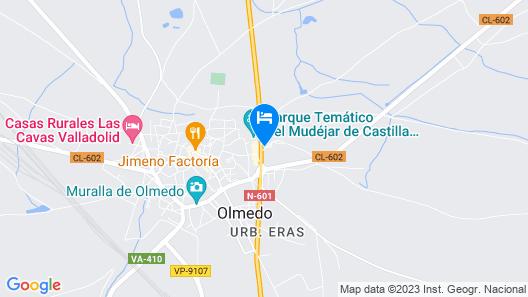 Castilla Termal Balneario de Olmedo Map