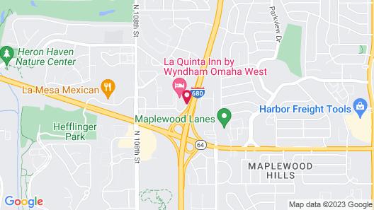 La Quinta Inn by Wyndham Omaha West Map