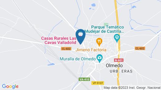 Hospedium Hacienda Las Cavas Map