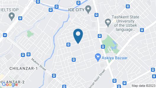 Pamir Hotel Map