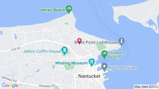 The Beachside at Nantucket Map