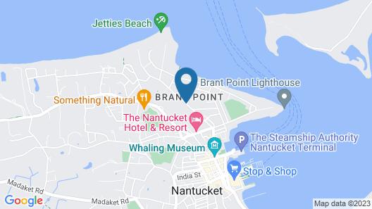The Beachside at Nantucket Map