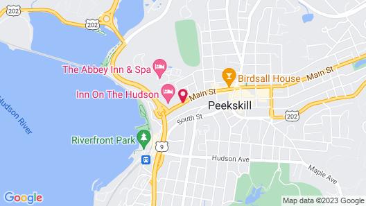 Inn on the Hudson Map