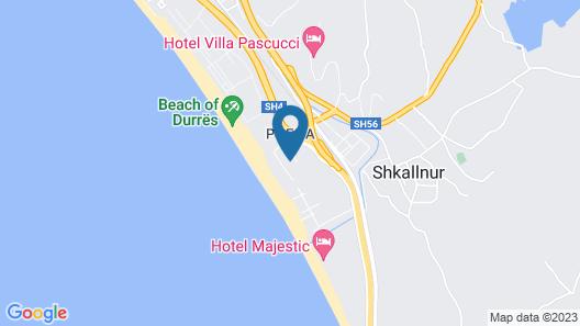 Tropikal Resort Map