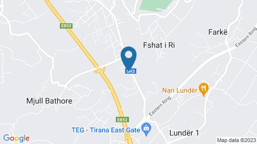 Hotel Viktoria Tirana Map
