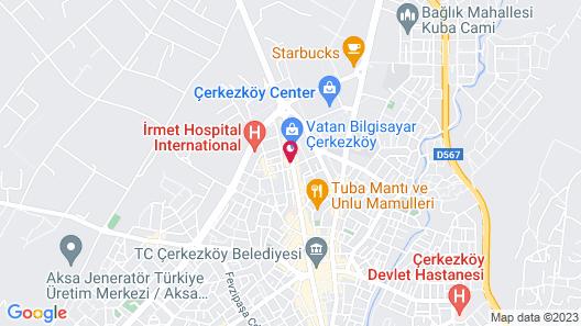 City Hotel Cerkezkoy Map