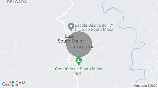 Village House at the Gates of the Douro Valley: Casa Dona Fonseca Map