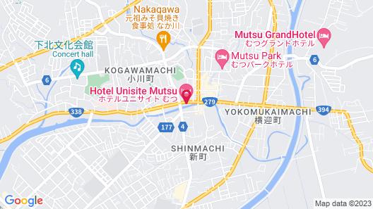 Hotel Unisite Mutsu Map