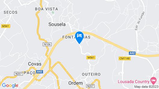 Quinta de Lourosa Map