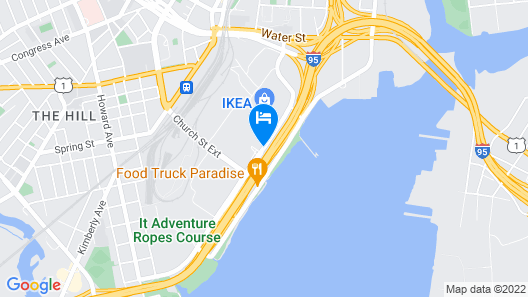 La Quinta Inn & Suites by Wyndham New Haven Map