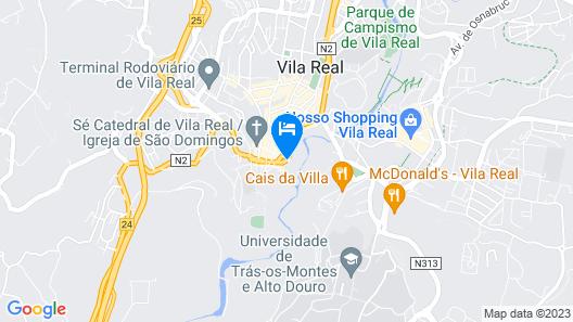 Hotel Mira Corgo Map
