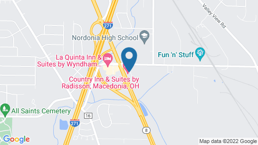 Country Inn & Suites by Radisson, Macedonia, OH Map