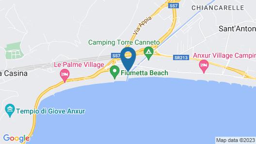Camping Barchi Map