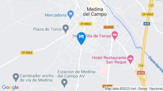Balneario Palacio de las Salinas Map