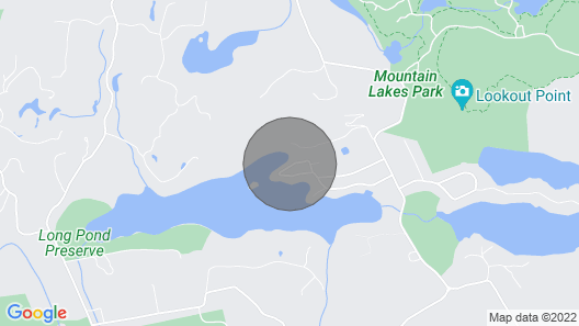 Live ON A Beautiful Lake one Hour From New York City! Map