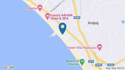 Hotel Iliria Internacional Map