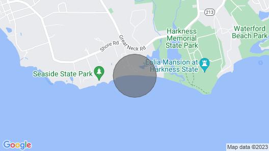 A Beach Cottage Gem.. Map