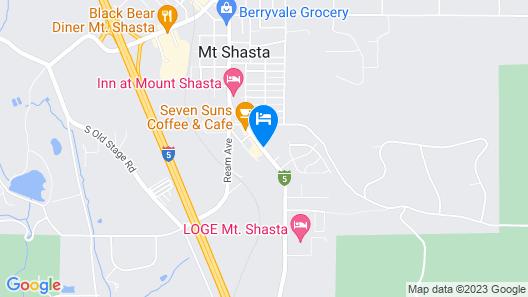 Strawberry Valley Inn Map