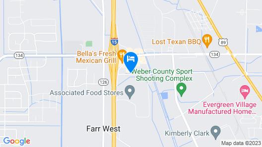Comfort Inn Ogden near Event Center Map