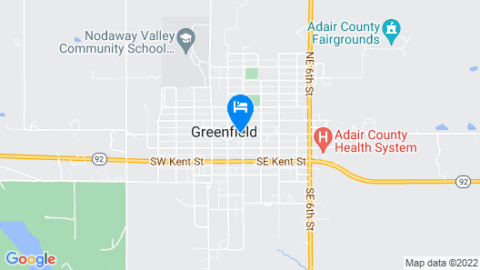 Hotel Greenfield Map