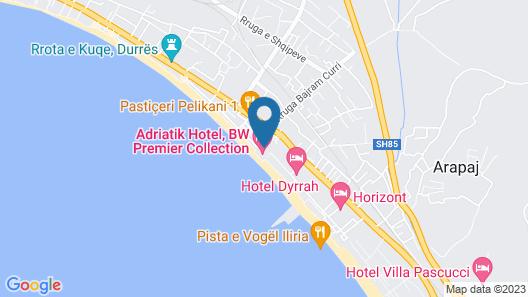 Adriatik Hotel & Resort Map