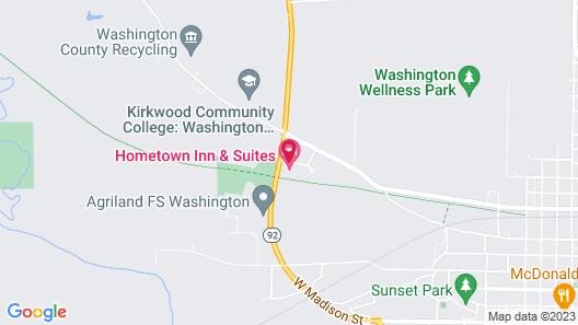Hometown Inn & Suites Map