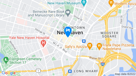 Omni New Haven Hotel at Yale Map