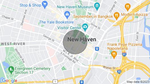Kasa New Haven Charming 1bd/1ba Apartment Map