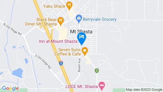 Inn at Mount Shasta Map