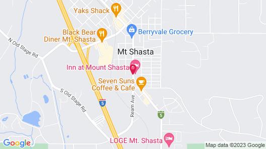 Shasta Inn Map