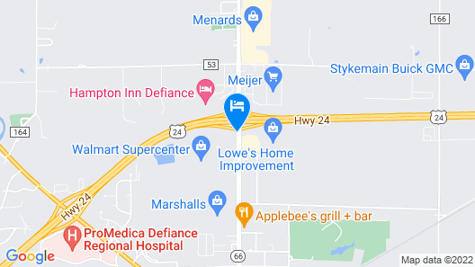 Quality Inn Map