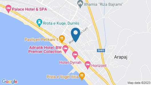 Vila Vela Map