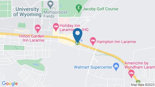 Quality Inn & Suites University Map