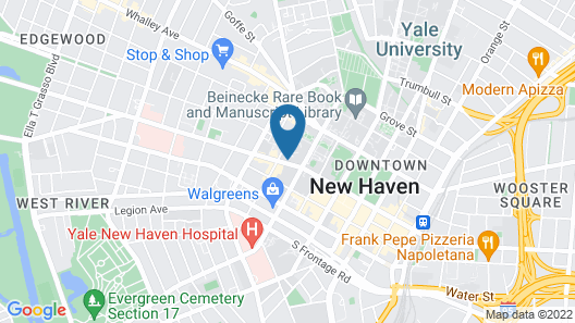The Study at Yale Map