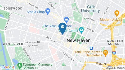 Graduate New Haven Map