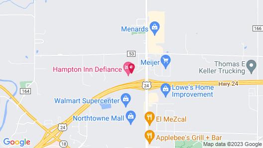 Super 8 by Wyndham Defiance Map