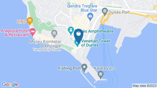 Hotel Veliera Map