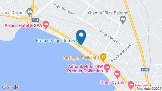 VH Belmond Durres Hotel & Beach Map