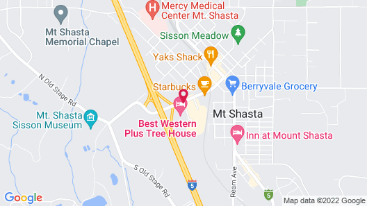 Best Western Plus Tree House Map