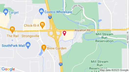Holiday Inn Cleveland - Strongsville (Arpt), an IHG Hotel Map