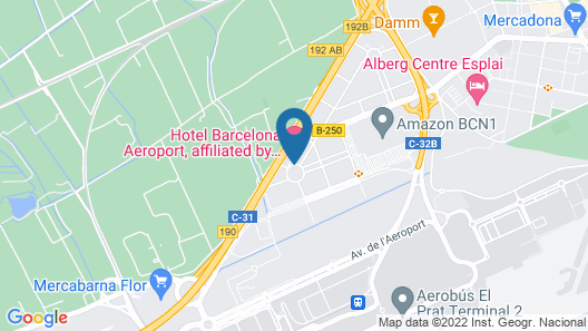 Hotel Barcelona Aeropuerto, Affiliated by Meliá Map