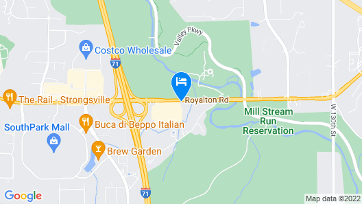 Holiday Inn Cleveland - Strongsville (Arpt) Map