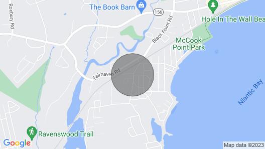 New! Coastal Getaway w/ Porch, Near Niantic Beach! Map